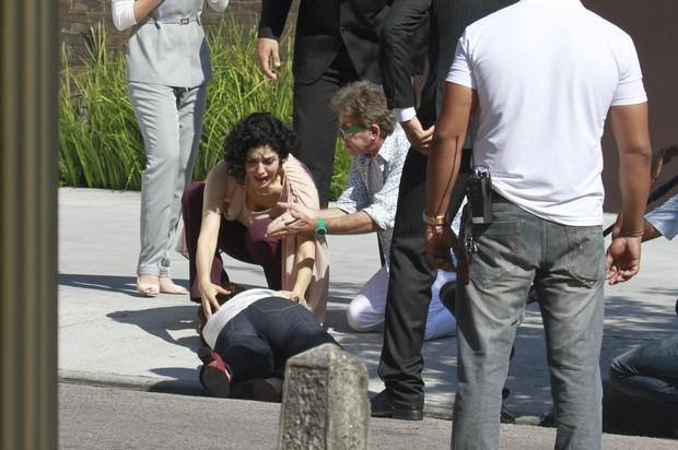Leticia Sabatella e Regiane Alves (Foto: Dilson Silva / Agnews)