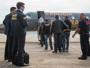 Operação prendeu suspeitos de fraude em São Paulo e no Rio de Janeiro (Foto: Gil Leonardi/Imprensa MG)