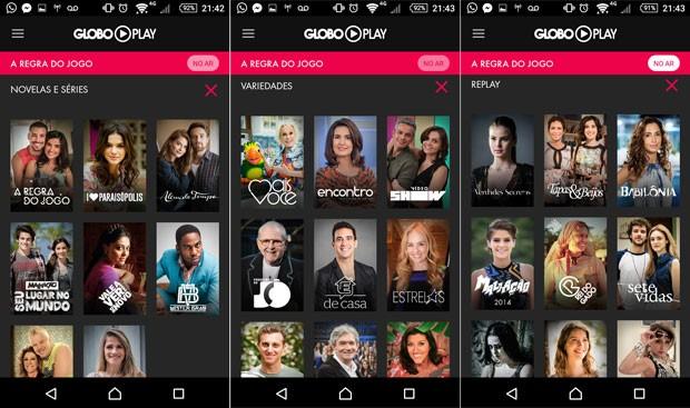 TV Online - Tv Globo