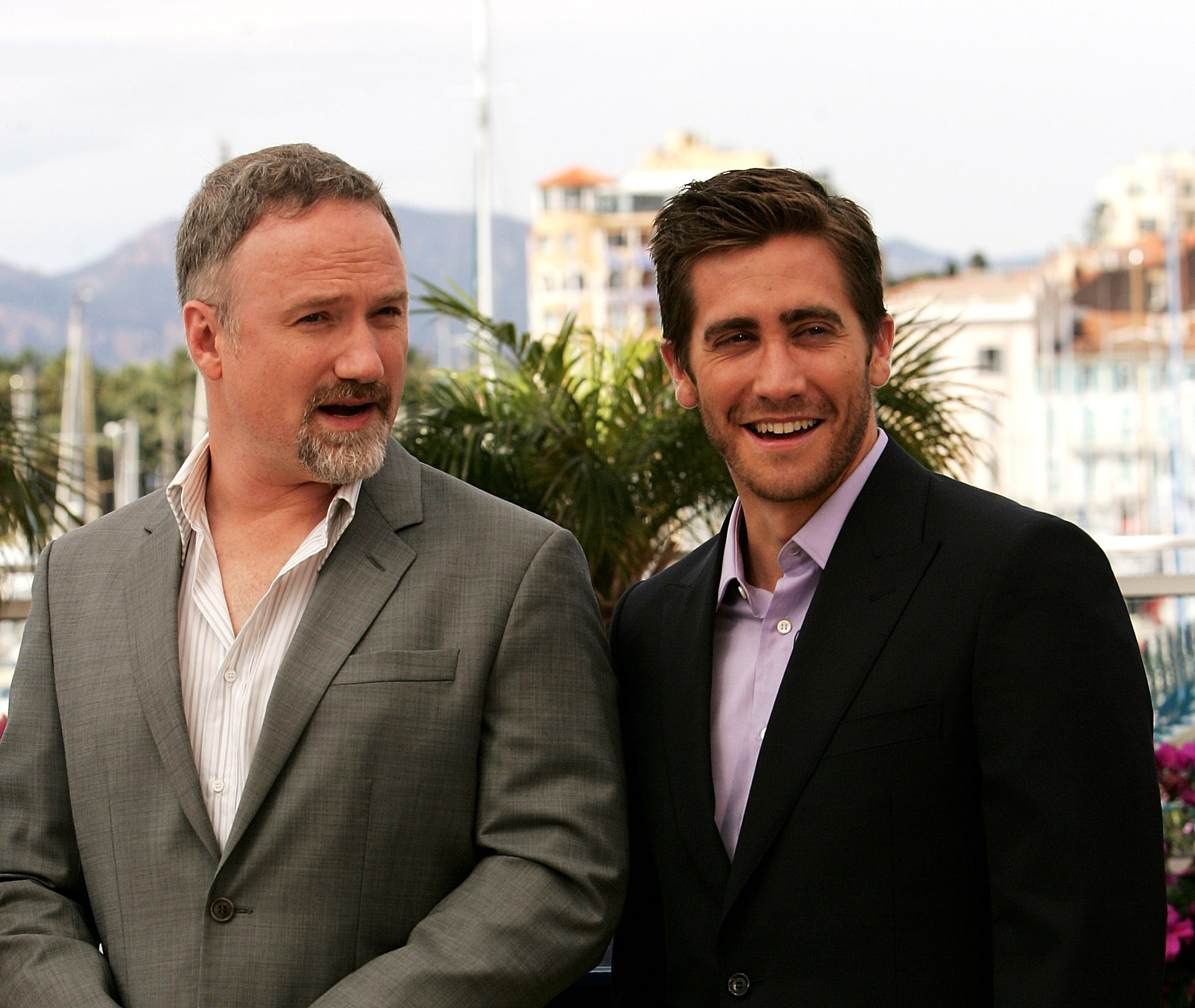 David Fincher e Jake Gyllenhaal (Foto: Getty Images)