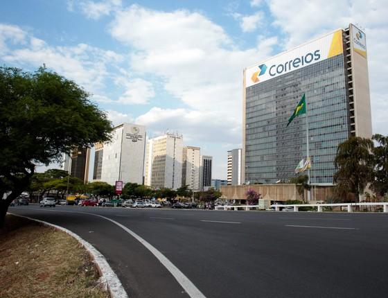 Sede dos Correios (Foto: Bruno Spada/Editora Globo)