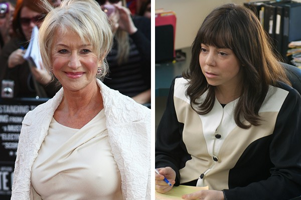 Helen Mirren perdeu o papel de Ms. Weiss para Mariah Carrey (Foto: Getty Images / Reprodução)