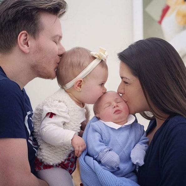 Família Teló-Fersoza (Foto: Reprodução - Instagram)