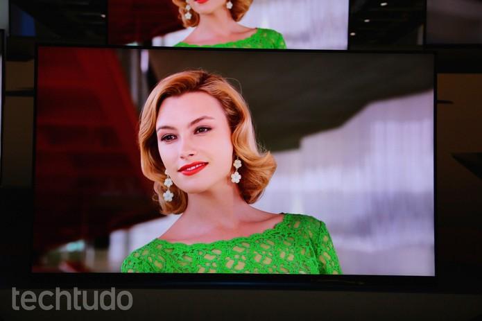 Tvs da Panasonic (Foto: Fabrício Vitorino/TechTudo)