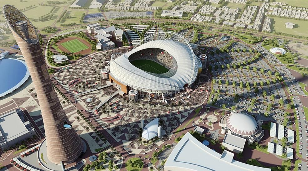 Khalifa Stadium será um dos principais palcos da Copa do Mundo de 2022 (Foto: Divulgação/Catar)