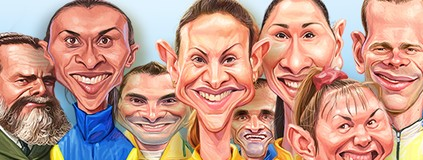 Meu pódio olímpico: escolha seus  atletas preferidos de todos os tempos (infoesporte)