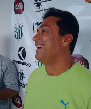 China, gerente de futebol, Uberlândia Esporte (Foto: Gullit Castro)