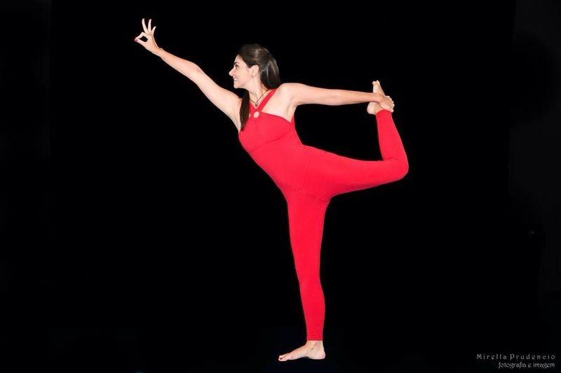 Tatyana Jorge mostra suas habilidades com a Yôga (Foto: arquivo pessoal)