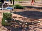 Ciclista morre atropelado na BR-262, em Viana, no ES