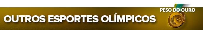 pan modalidades esportes OUTROS ESPORTES OLÍMPICOS (Foto: Editoria de Arte)