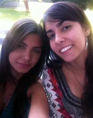 Letícia e a irmã Márian (Foto: Arquivo Pessoal)