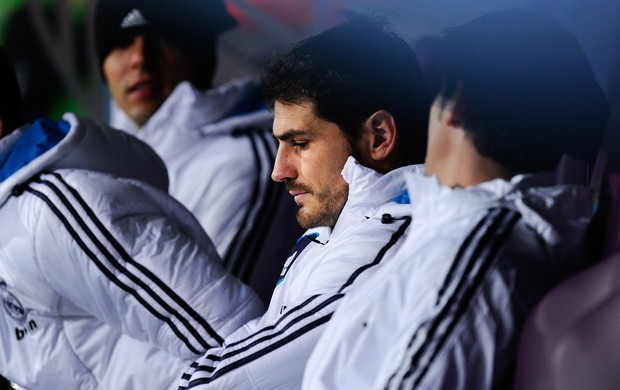Casillas Real Madrid banco (Foto: Getty Images)