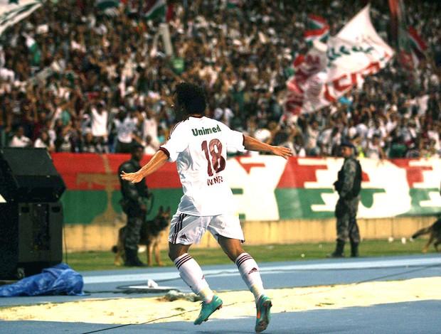Wellington nem comemora gol contra o Coritiba (Foto: Nelson Perez / Fluminense. F.C.)
