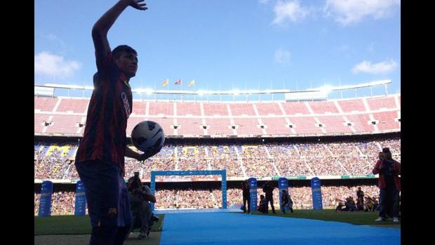 Neymar barcelona Facebook (Foto: Reprodução / Facebook)