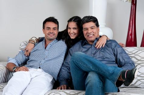 Marcio Kieling, Mauricio Mattar e Rayana Carvalho  (Foto: Michel Angelo/TV Record)