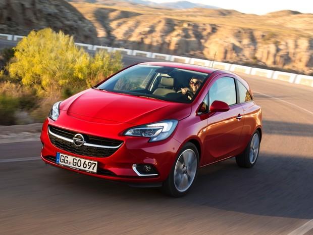 GM revelou a 5ª geração do Opel Corsa (Foto: Divulgação)