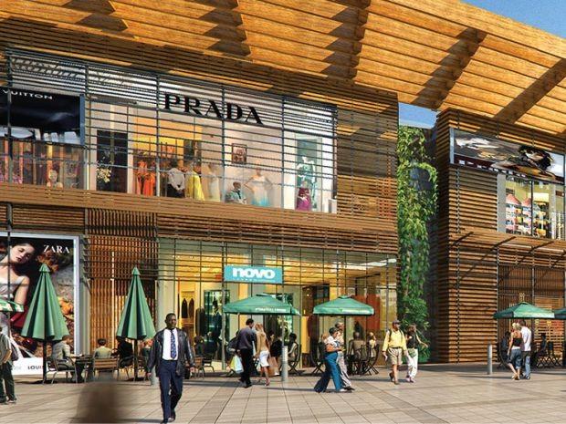 Shopping terá vista voltado para o mar e lojas de alto padrão (Foto: Agecom / Divulgação)