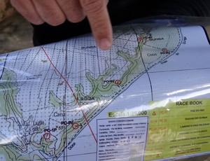 Mapa Trekking AL (Foto: Viviane Leão/GLOBOESPORTE.COM)