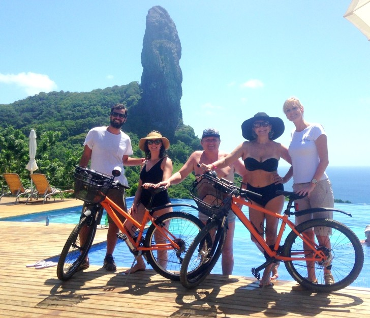 Bicicletas doção Noronha 2