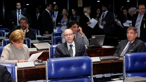 Plenário do Senado, Lei geral da Copa (Foto: Waldemir Barreto / Agência Senado)