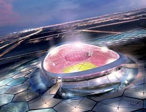 Lusail Iconic Stadium no Qatar (Foto: Site Oficial)