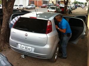 Veículos eram trazidos de São Paulo (Foto: Valdivan Veloso/G1)