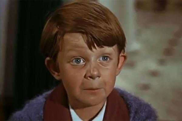 Matthew Garber tornou-se reconhecido no mundo inteiro após interpretar Michael Banks em 'Mary Poppins'. Após viajar para a Índia, o ator contraiu hepatite e acabou falecendo com apenas 21 anos. (Foto: Divulgação)