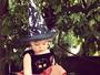 Debby Lagranha posta foto da filha: 'Minha bruxinha'
