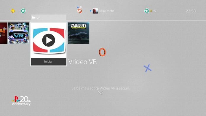 Netflix não funciona com o VR, mas há apps próprios (Foto: Reprodução/Felipe Vinha)