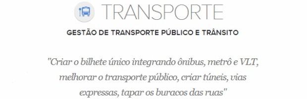 Transporte (Foto: G1)