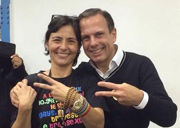 Soninha Francine e João Doria (Foto: Divulgação)