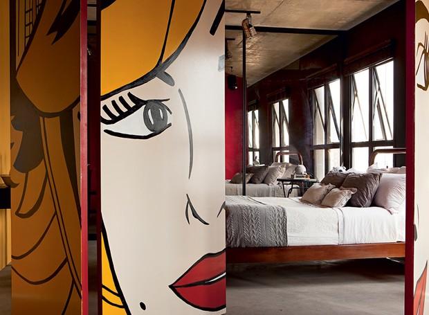 Porta-designer-de-interiores-rafael-mello-pop-art (Foto: Edu Castello/Editora Globo)
