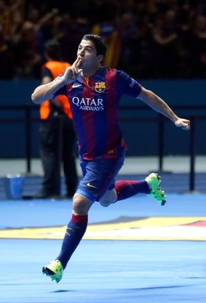 Suarez gol Barcelona x Juventus (Foto: AP)