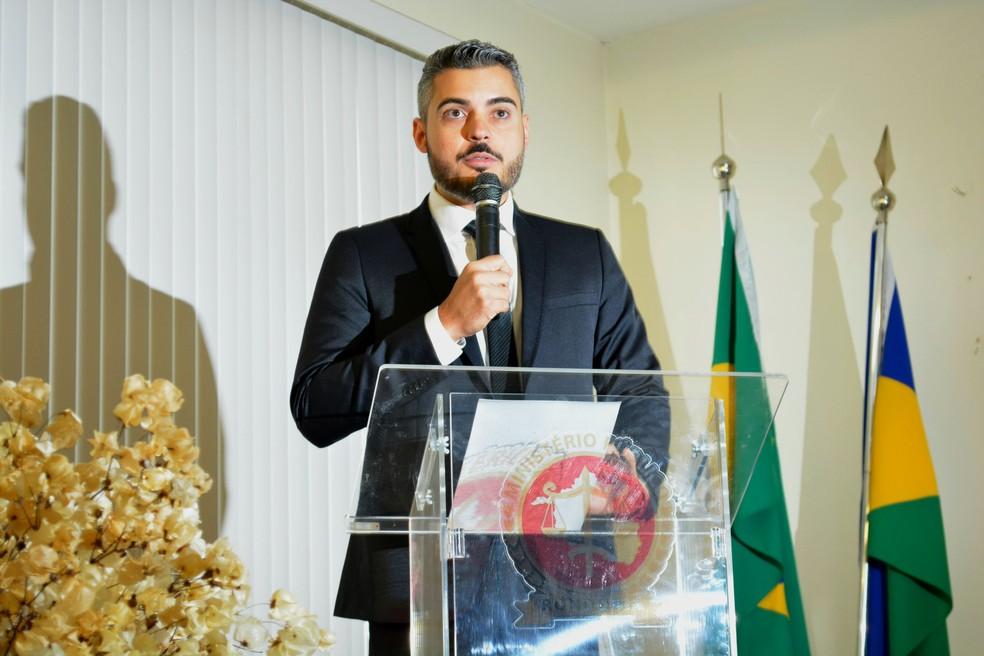 Prefeito de Ariquemes diz que vai se pronunciar só após publicação no DOU (Foto: Ana Claudia Ferreira/G1)