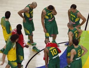 brasil x servia basquete
