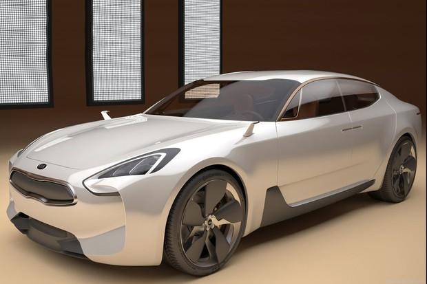Kia GT Concept, apresentado no Salão de Frankfurt de 2011 (Foto: Divulgação)