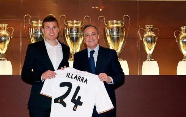 Illarramendi apresentado pelo Real Madrid (Foto: Realmadrid.com)