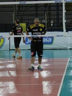 Técnico, Ricardo Picinin, Praia Clube, Superliga, Uberlândia (Foto: Lucas Papel)