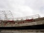 FOTOS: Cobertura do Beira-Rio avana com instalao de skyboxes 