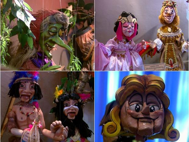 Museu de bonecos Companhia de Teatro Polichinelo tem entrada gratuita em Araraquara (Foto: Reprodução/EPTV)