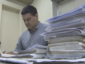 Tribunal Regional do Trabalho utiliza 17 toneladas de papel por ano (Foto: Reprodução/TV Rondônia)