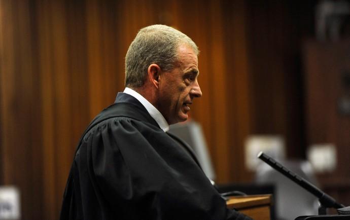 oscar pistorius julgamento gerrie nel promotor (Foto: Reuters)