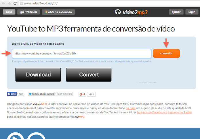 converter videos de youtube para mp3