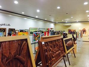 Obras foram produzidas por cerca de 40 artistas da Amazônia (Foto: Ijoma/Divulgação)