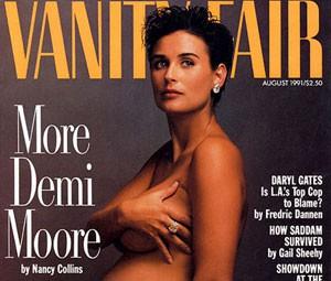 Capa da edição de agosto de 1991 da 'Vanity Fair' (Foto: Divulgação)