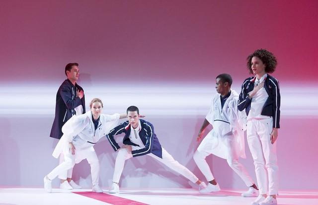 Lacoste assina uniformes dos atletas franceses (Foto: Divulgação)