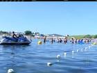 Praia do Forte tem espaço reservado para motos aquáticas neste verão