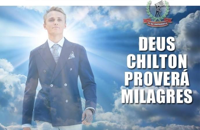 """Façanhas inusitadas de Max Chilton fazem briânico ser """"idolatrado"""" na internet (Foto: Reprodução/Facebook)"""
