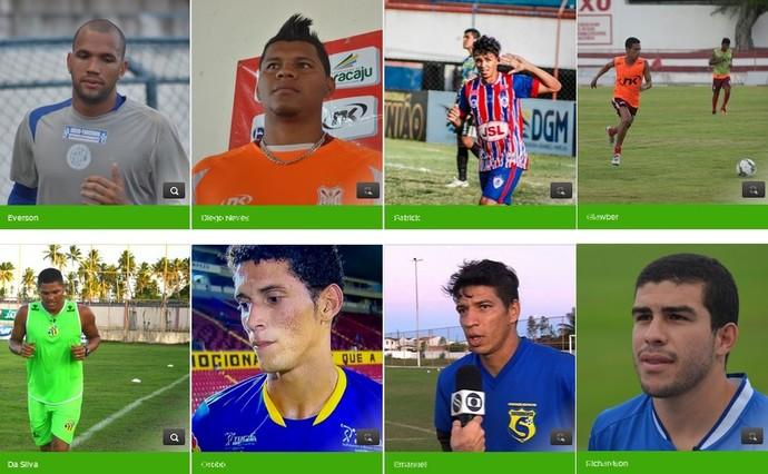 Craque da galera do Campeonato Sergipano 2015 (Foto: GLOBOESPORTE.COM)