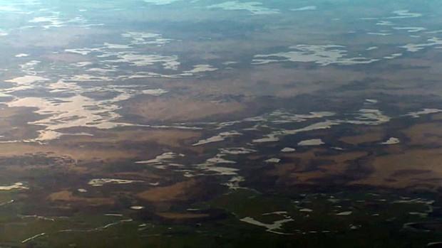 Lago Chade fica na fronteira de quadro países na região do Sahel, na África (Foto: Reprodução)